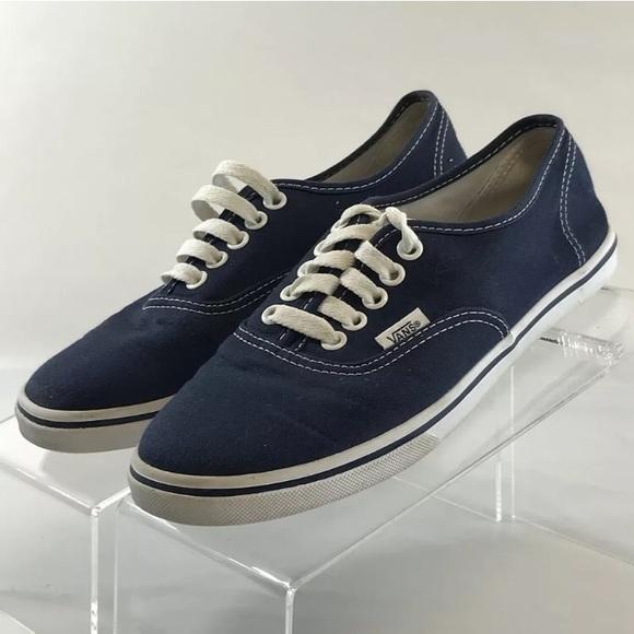 Blue Canvas Sneakers Size 7m   Poshmark